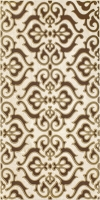 Paradyz dekorcsempe Paradyz Coraline brown classic dekorcsempe