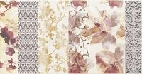 Paradyz dekorcsempe Paradyz Reflection Patchwork dekorcsempe