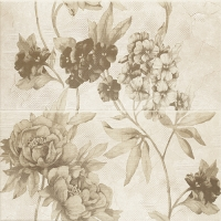 Paradyz dekorkép Paradyz Inspriation beige Kwiat dekorkép