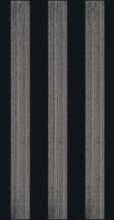 Paradyz dekorcsempe Paradyz Bellicita nero Stripes dekorcsempe
