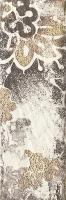 Paradyz dekorcsempe Paradyz Rondoni bianco D dekorcsempe